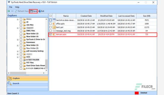 SysTools Hard Drive Data Recovery Full Crack