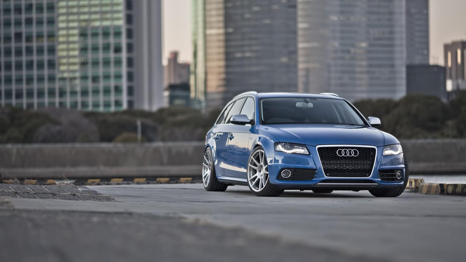 Audi S4 Blue HD Desktop Wallpapers 4k HD