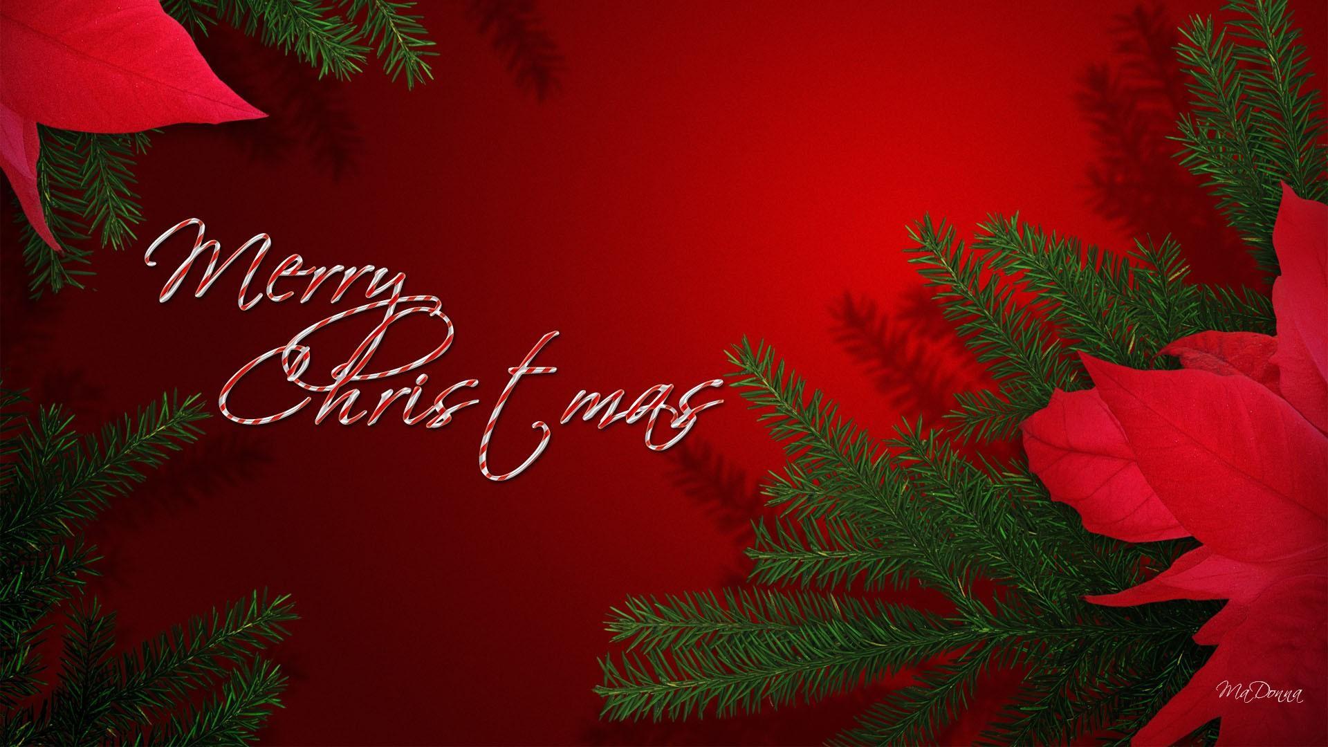 Merry Christmas Wallpapers Red Hd HD Desktop Wallpapers