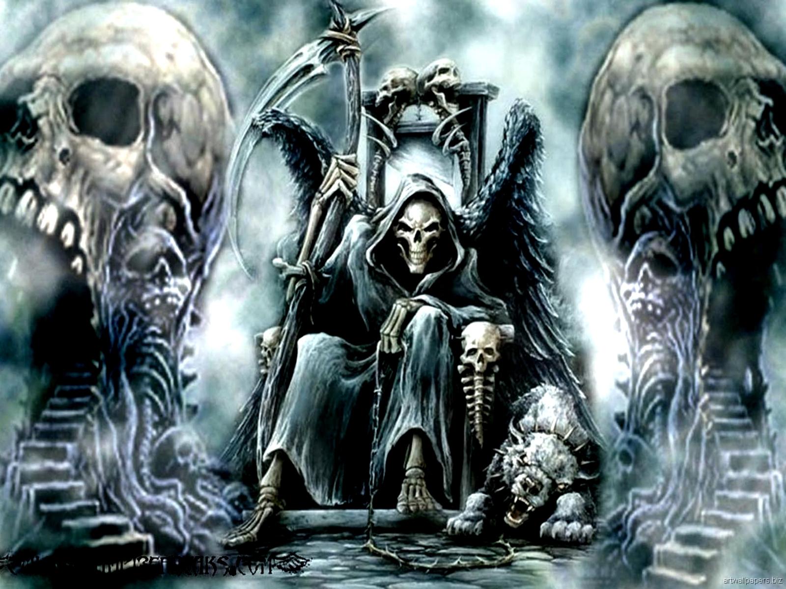 skull wallpapers fantasy - hd desktop wallpapers | 4k hd