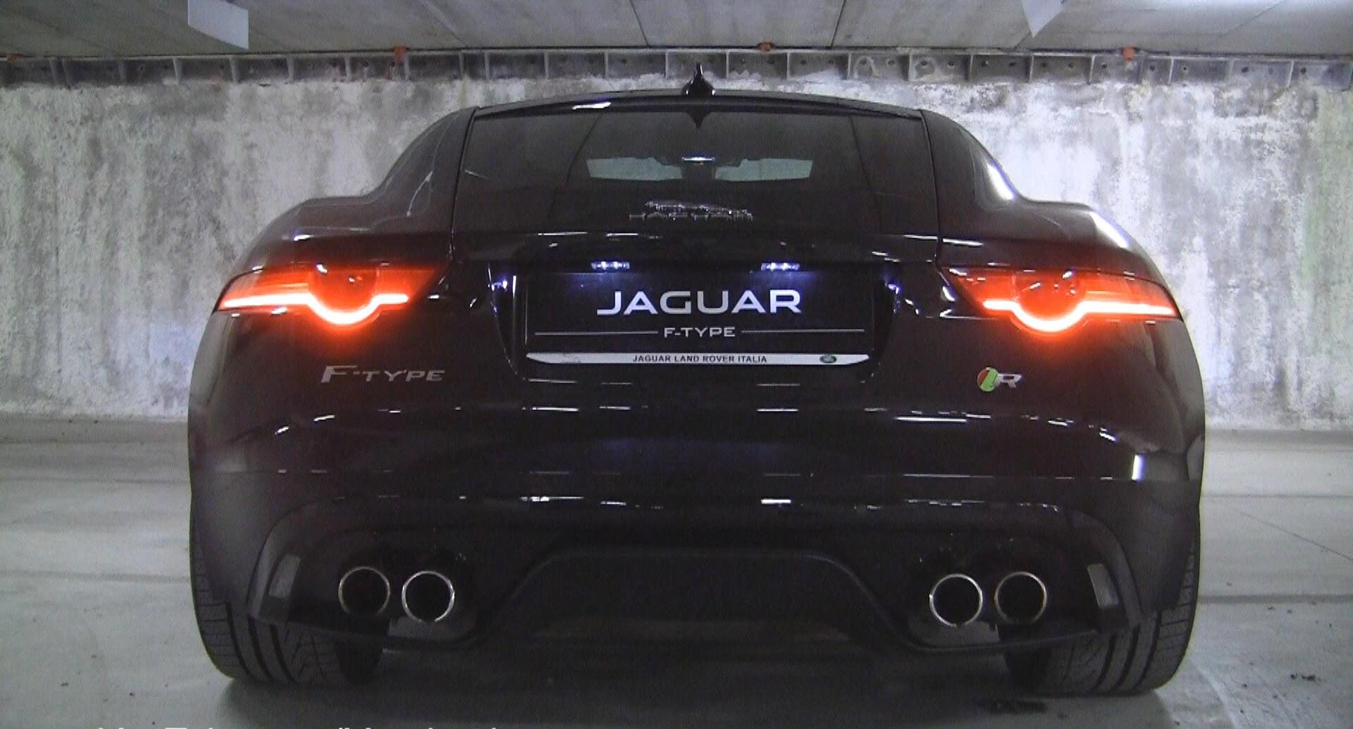 Jaguar F Type Black HD Desktop Wallpapers 4k HD