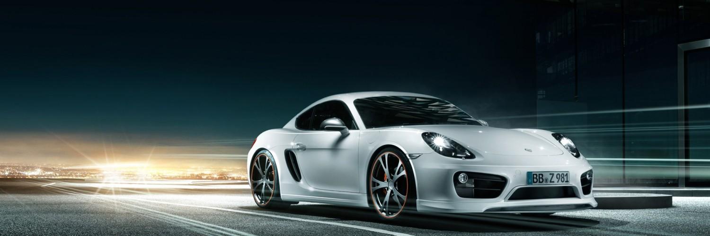 Porsche Cayman White Background HD Desktop Wallpapers