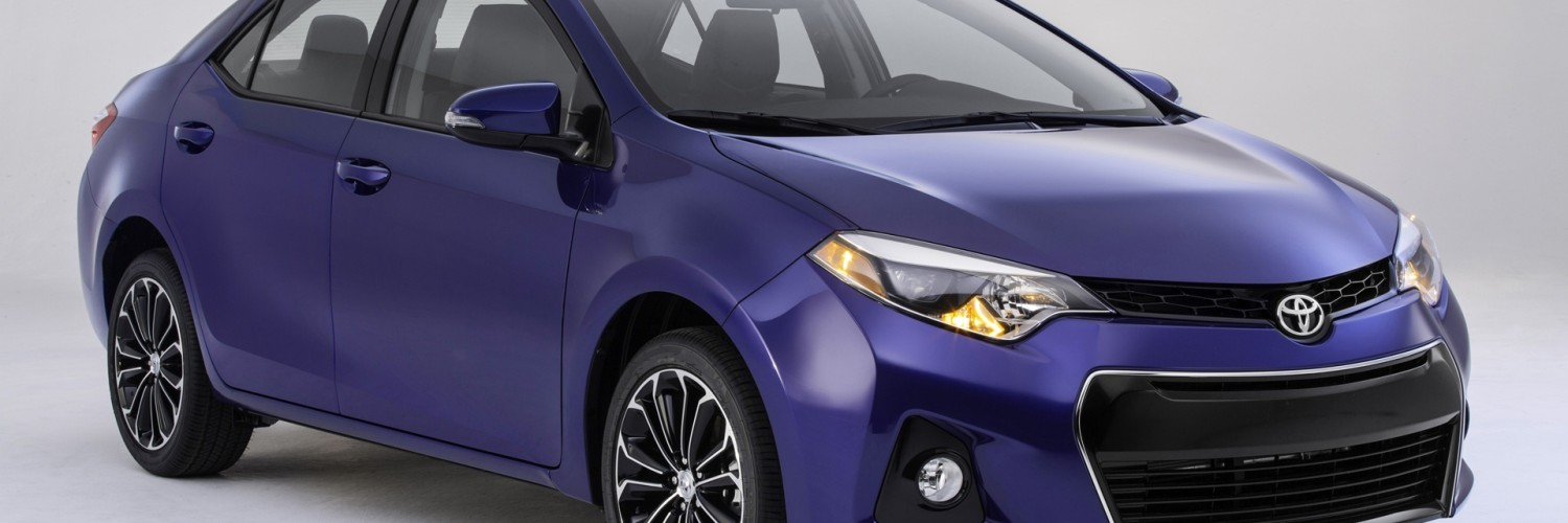 Toyota Corolla Purple HD Desktop Wallpapers 4k HD
