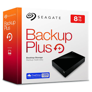 Seagate Backup Plus External Hard Drive