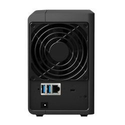 Synology Disk Station 2-Bay (DS216) back