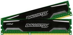 Crucial Ballistix Sport 8GB Kit (4GBx2) DDR3 1600 (PC3-12800) 240-Pin UDIMM Memory BLS2KIT4G3D1609DS1S00/BLS2CP4G3D1609DS1S00 review