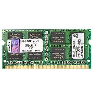 Kingston Technology 8GB 1600MHz DDR3L (PC3-12800) 1.35V Non-ECC CL11 SODIMM Intel Laptop Memory KVR16LS11/8 review