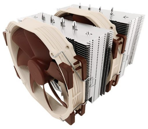 cpu cooler Noctua NH-D15 6 heatpipe with Dual NF-A15 140mm fans