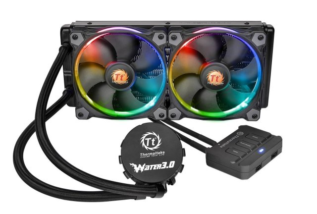 coolest looking premium liquid cpu cooler