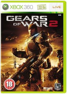 Gears of war 2 Xbox 360 disk