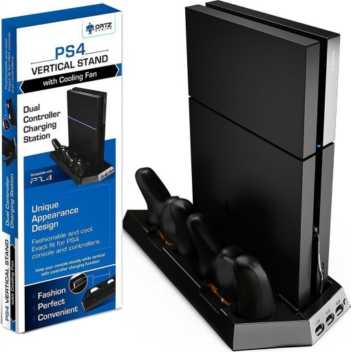 Ortz PS4 Vertical Stand with Cooling Fan Review