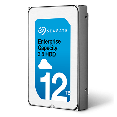 Second largest hard drive in the world - Seagate Enterprise Capacity 12TB, price & specs
