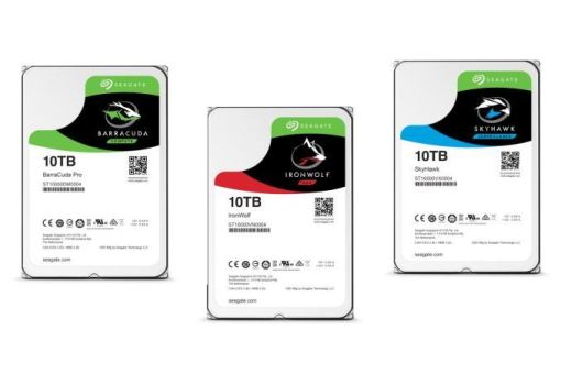 Third largest hard drive in the world - Seagate FireCuda, IronWolf, SKyHawk Guardian Series 10TB, price and specs