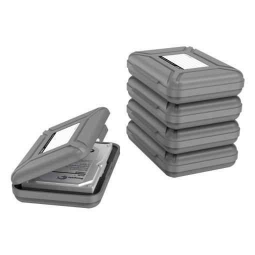 Orico 3.5-Inch Hard Drive Protective Case & Storage Box
