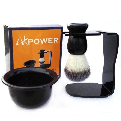 AKPOWERTM Shaving Brush Set