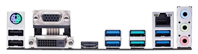 Asus Prime B350-PLUS connections