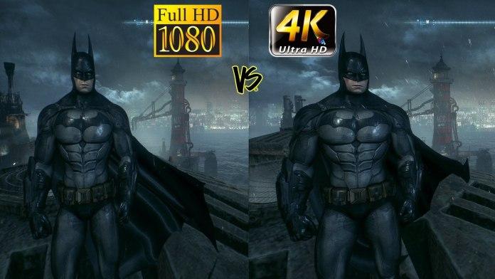 Full HD vs 4k Xbox One X