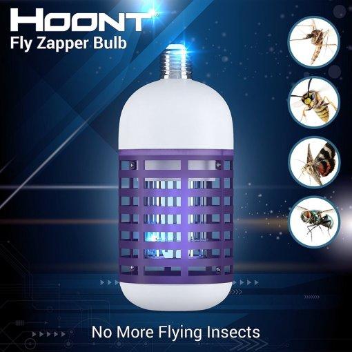 Hoont Powerful Electronic Indoor Bug Zapper Bulb