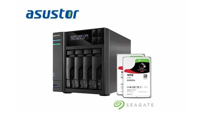 Seagate Teams Up With ASUSTOR for IronWolf Health Management