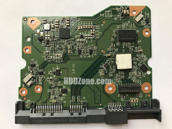 WD60EFRX-68L0BN1 WD PCB 2060-800001-005