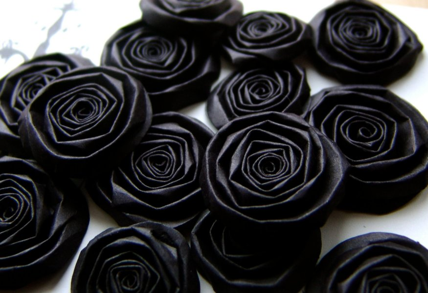 Real Black Flowers 5 Cool Wallpaper   HdFlowerWallpaper com Download Convert View Source