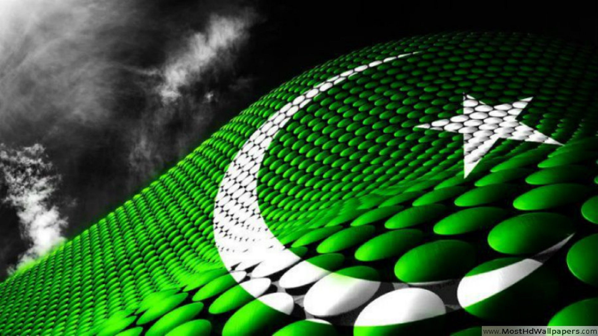 beautiful 3d pakistani flag best wallpapers for desktop free hd   HD     beautiful 3d pakistani flag best wallpapers for desktop