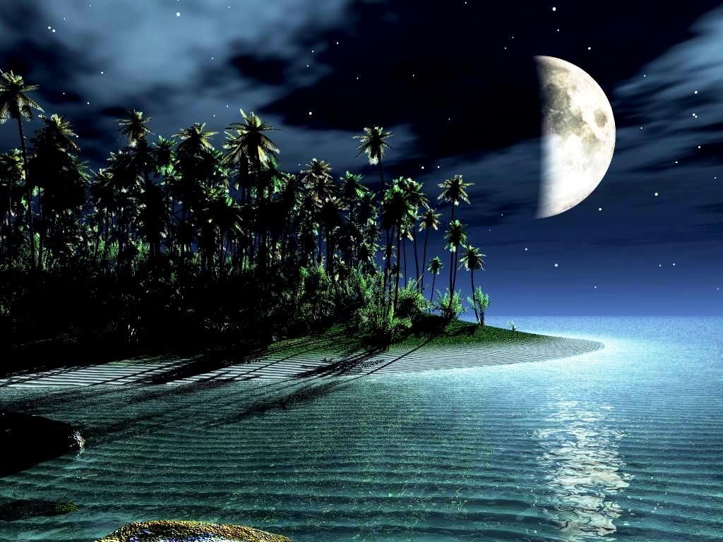 3d-beautiful-moon-pics-wallpaper-free-hd - hd wallpaper