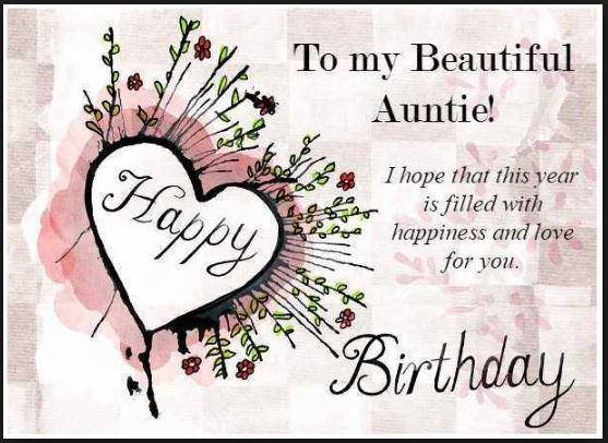 Happy Birthday Aunt Gif