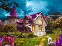 palm tree art on swimming pool