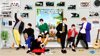 photo of BTS group