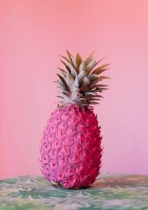pink pineapple wallpapers hd