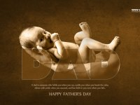 happy father day English quote wishing