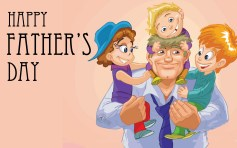 hd free happy fathers day wishing wallpapers