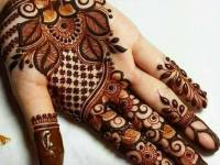 Latest Floral Mehndi Designs For Eid