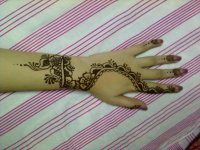easy mehndi design for eid al-fitr image