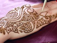 easy mehndi design step by step ideas