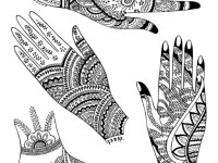 All easy mehndi designs free