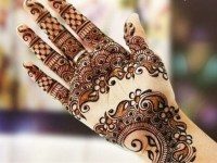 hd full front hand mehndi design