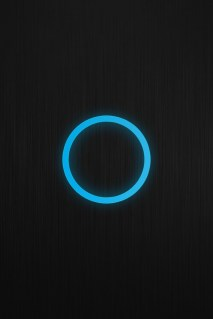 blue black mini techno wallpaper