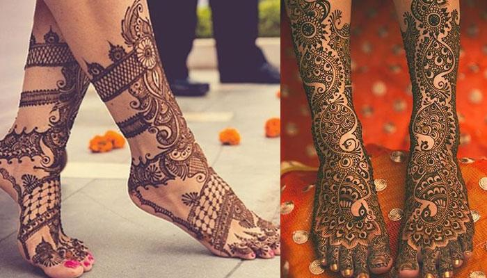 Henna Designs for foot (feet) | Mehndi Design for foot
