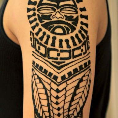 guy henna tattoo designs New manly polynesia henna tattoo design designed by admin of