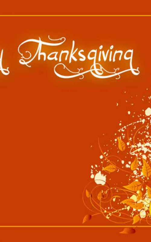 thanksgiving  orange color img