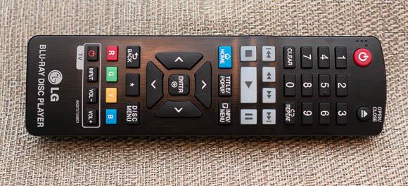 LG BP540 Remote