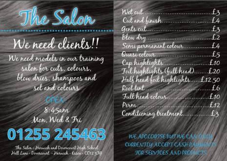 The Salon Flyer