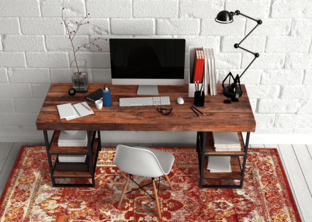 34 floating desks that look great and take up minimal space