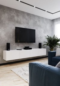 41 DIY TV Gallery Wall Inspirations & How Tos 31