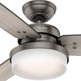 44 Bennett 5 Blade Ceiling Fan With Remote, Light Kit Included 13