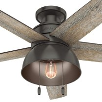 44 Bennett 5 Blade Ceiling Fan With Remote, Light Kit Included 14