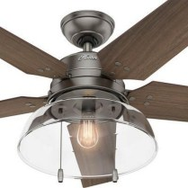 44 Bennett 5 Blade Ceiling Fan With Remote, Light Kit Included 26