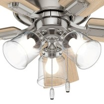 44 Bennett 5 Blade Ceiling Fan With Remote, Light Kit Included 3